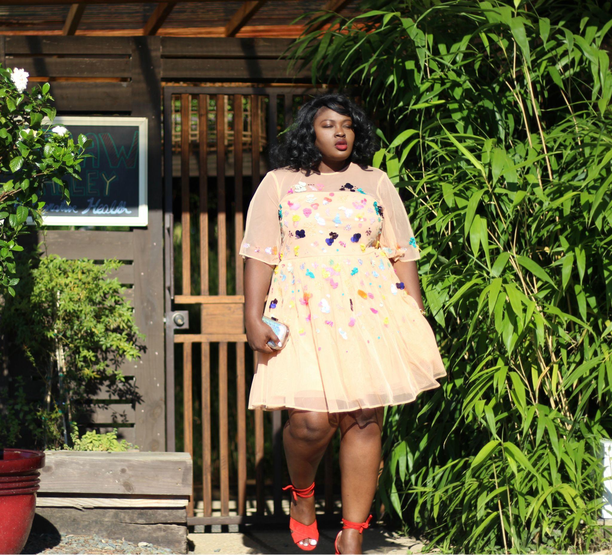 asos curve embellished sequin dress