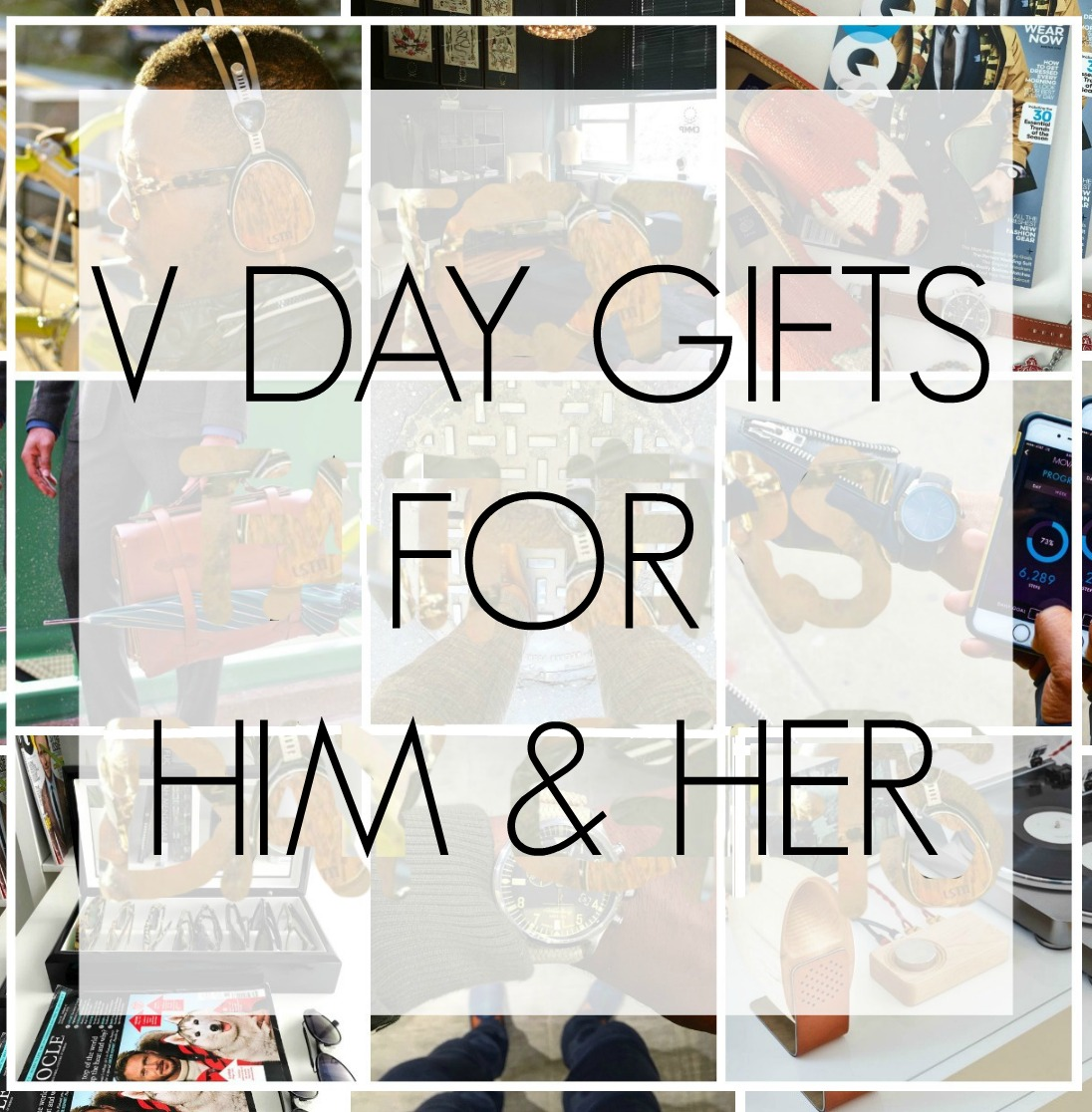 V DAY GIFTS FOR HIM & HER