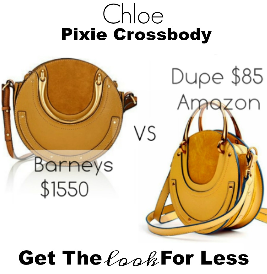 Chloe Pixie circle bag look for less