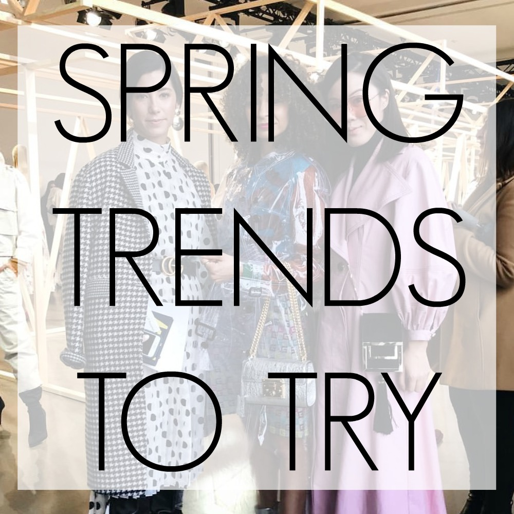 Top 5 Wearable Spring & Summer Trends To Try