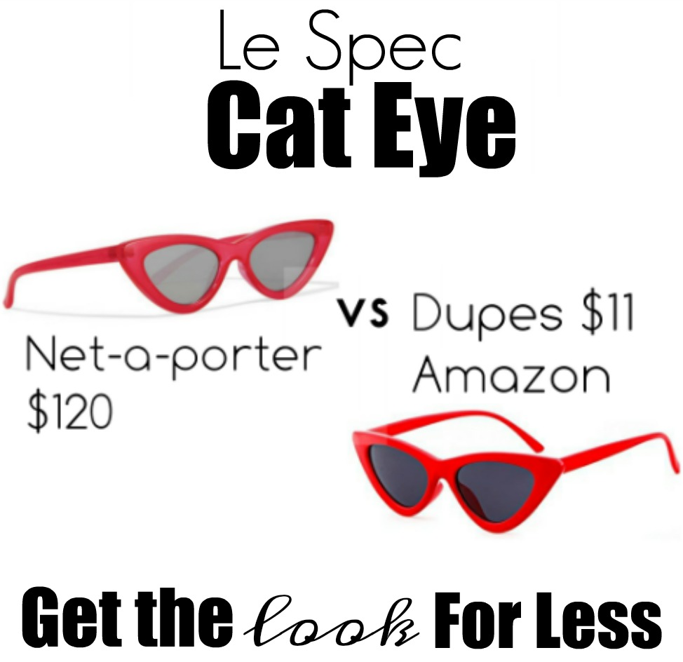 le spec cat eye shades look for less
