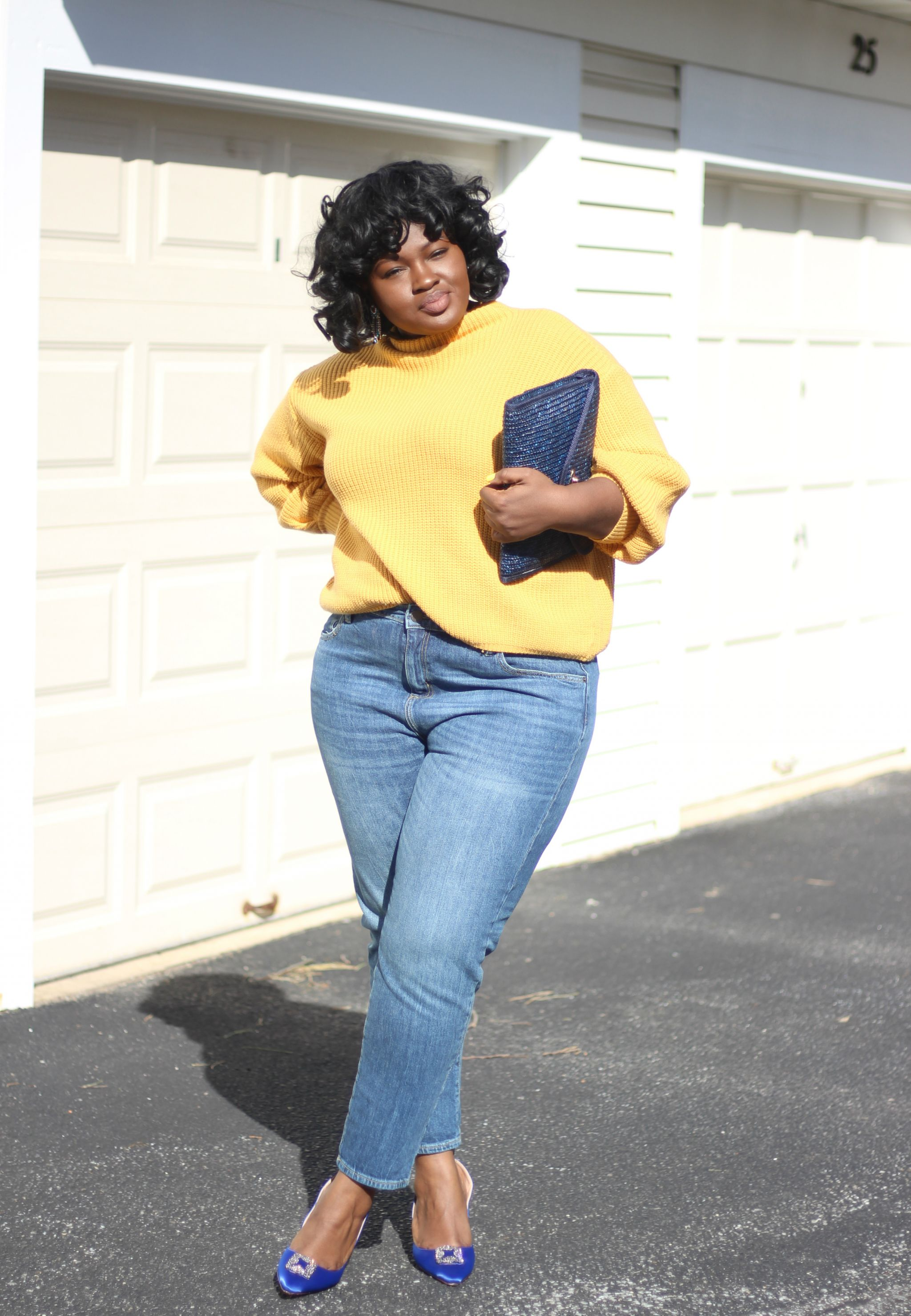 yellow sweater target universal thread jeans