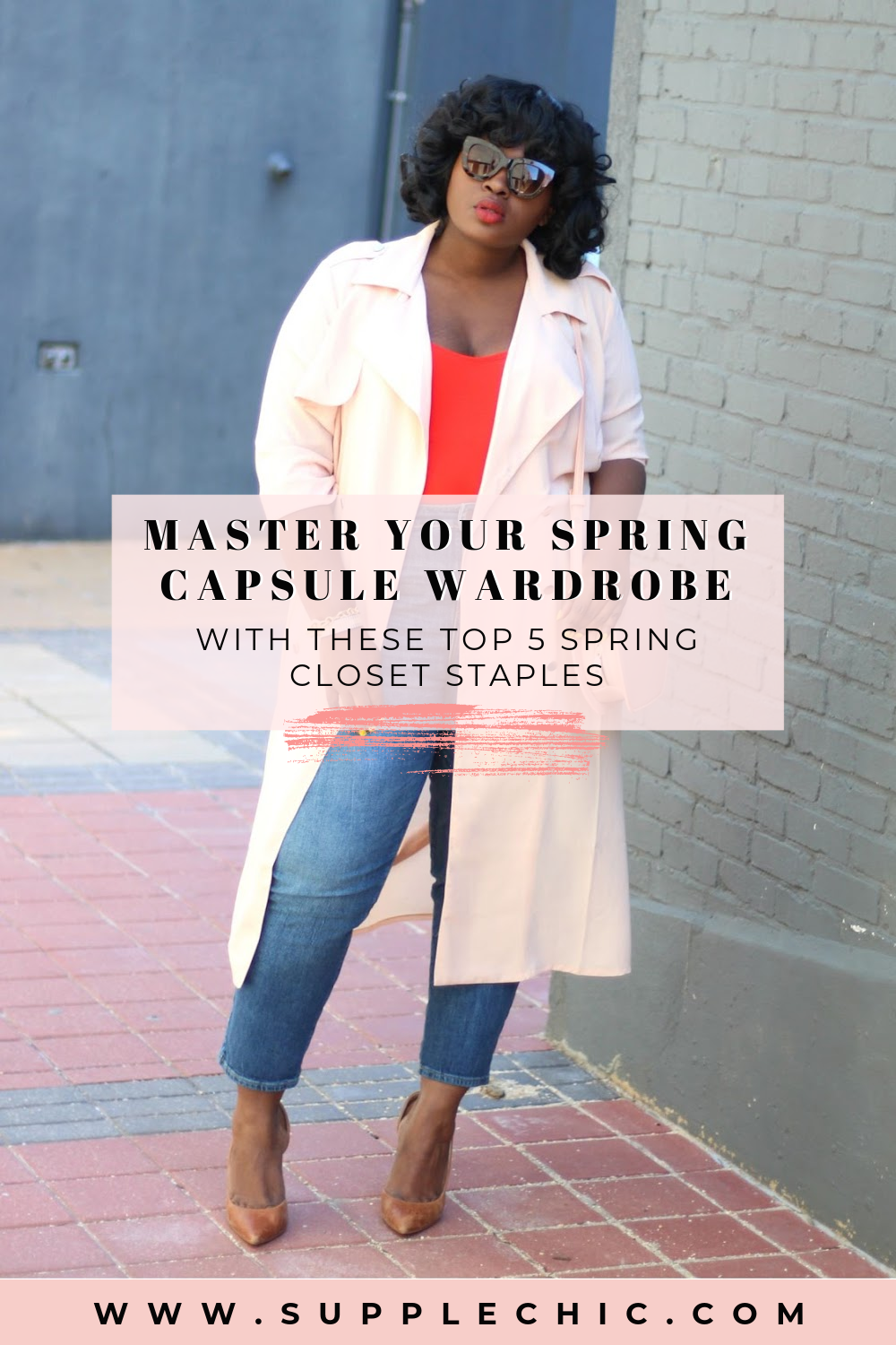 Spring capsule wardrobe staples from supplechic a fashion and lifestyle blog based out of Baltimore