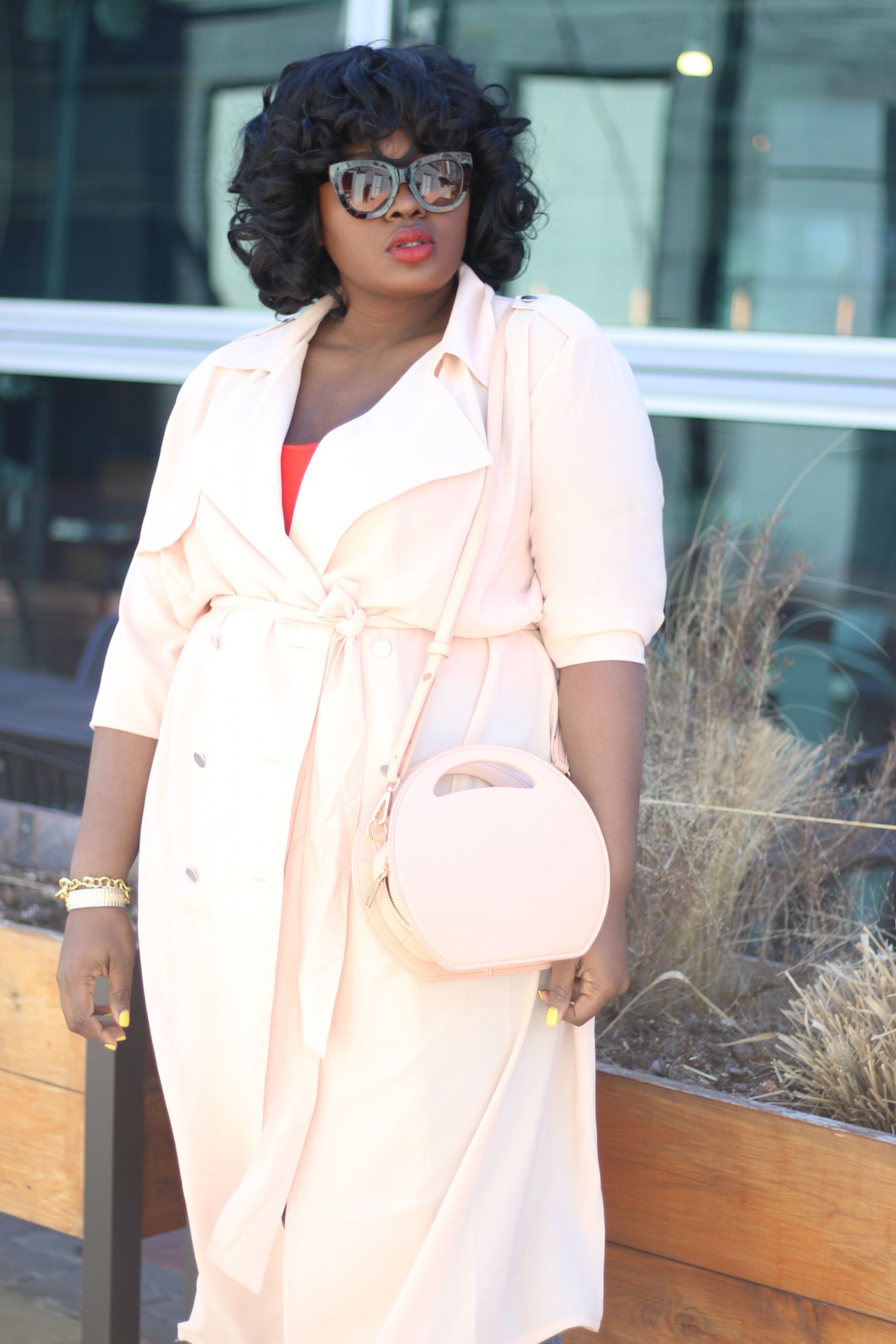 _Staples forever 21 plus trench
