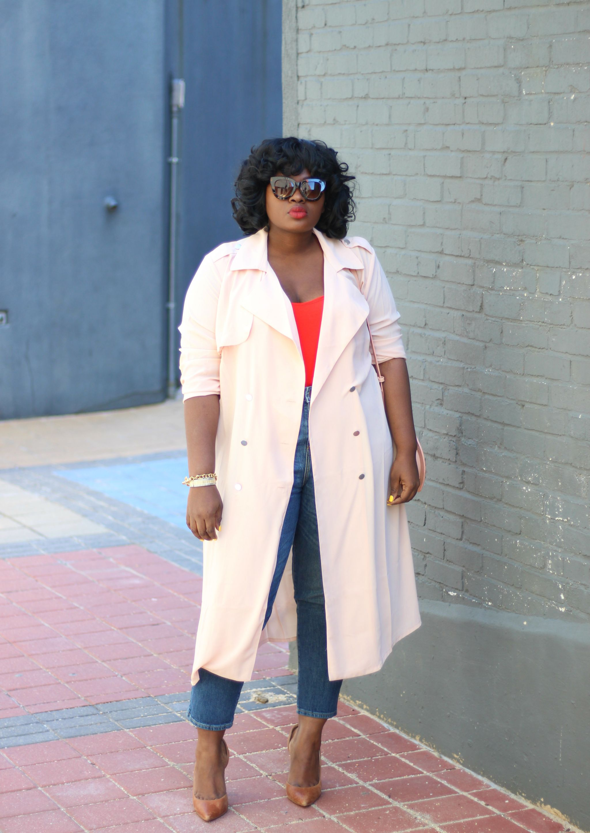 top 5 spring staples forever 21 plus chiffon trench outfit