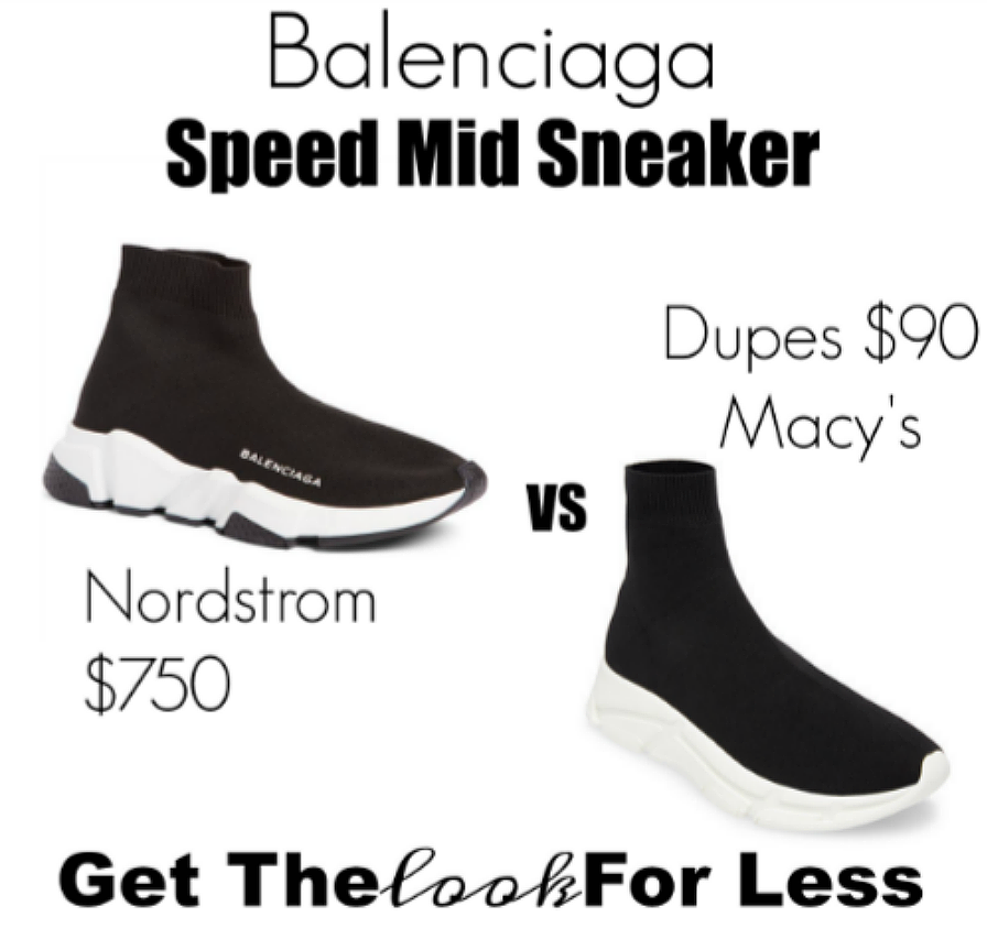 balenciaga sock sneaker LOOK FOR LESS