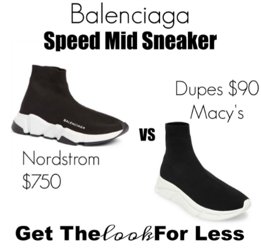 balenciaga sock sneaker LOOK FOR LESS