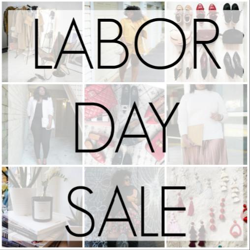 Labor Day Sales 2018 Style Picks + Deals Round Up