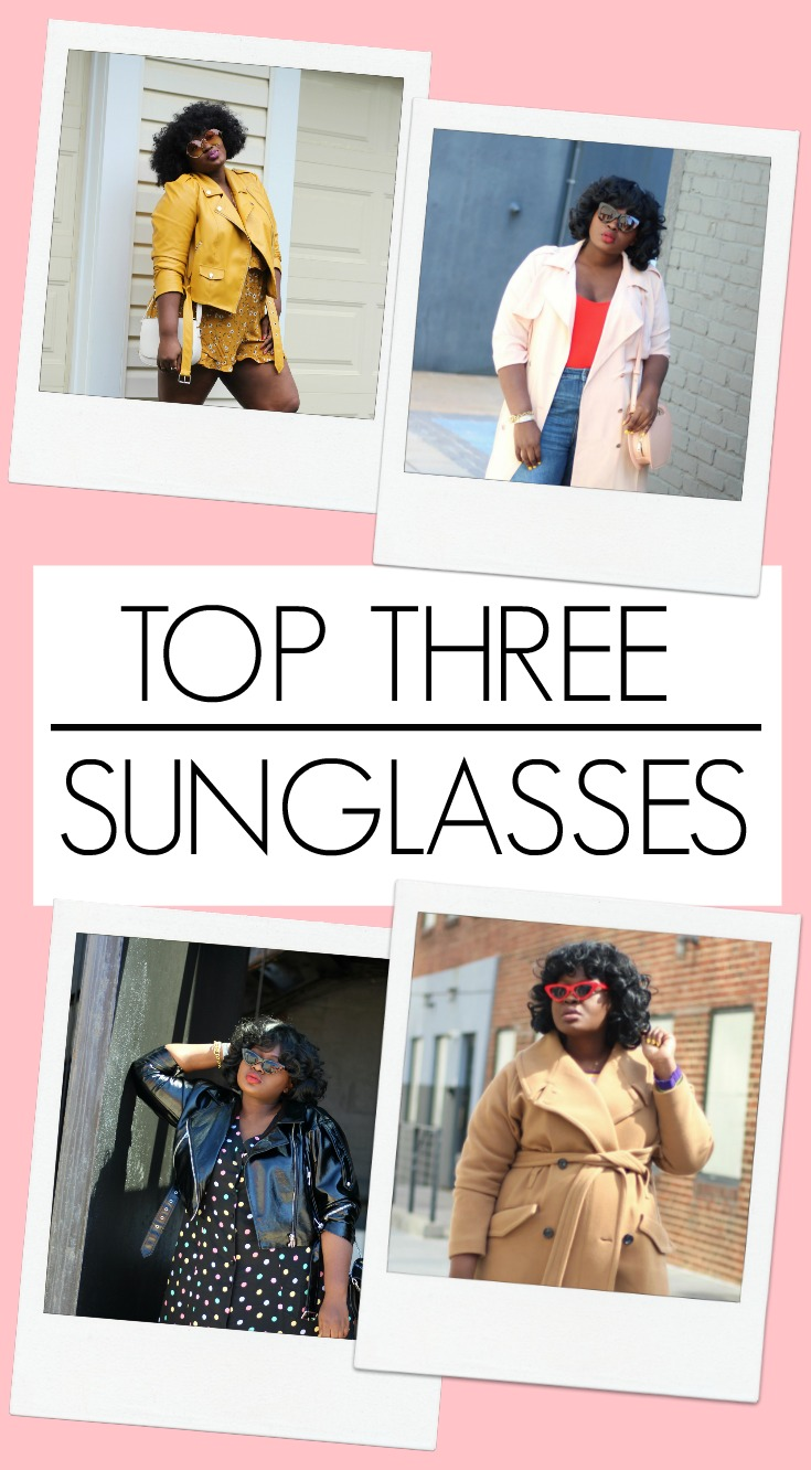 top three sunglass picks 2018