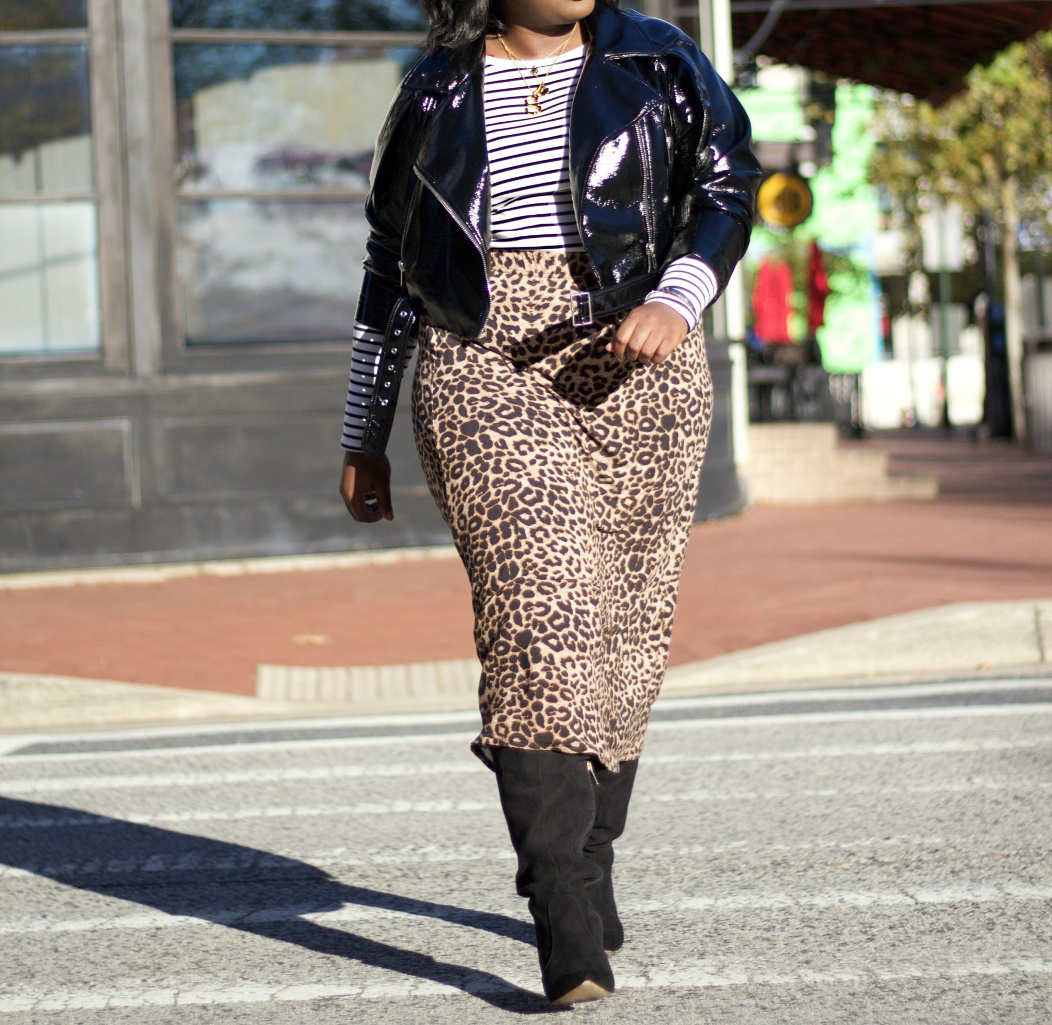how to wear leopard print out now