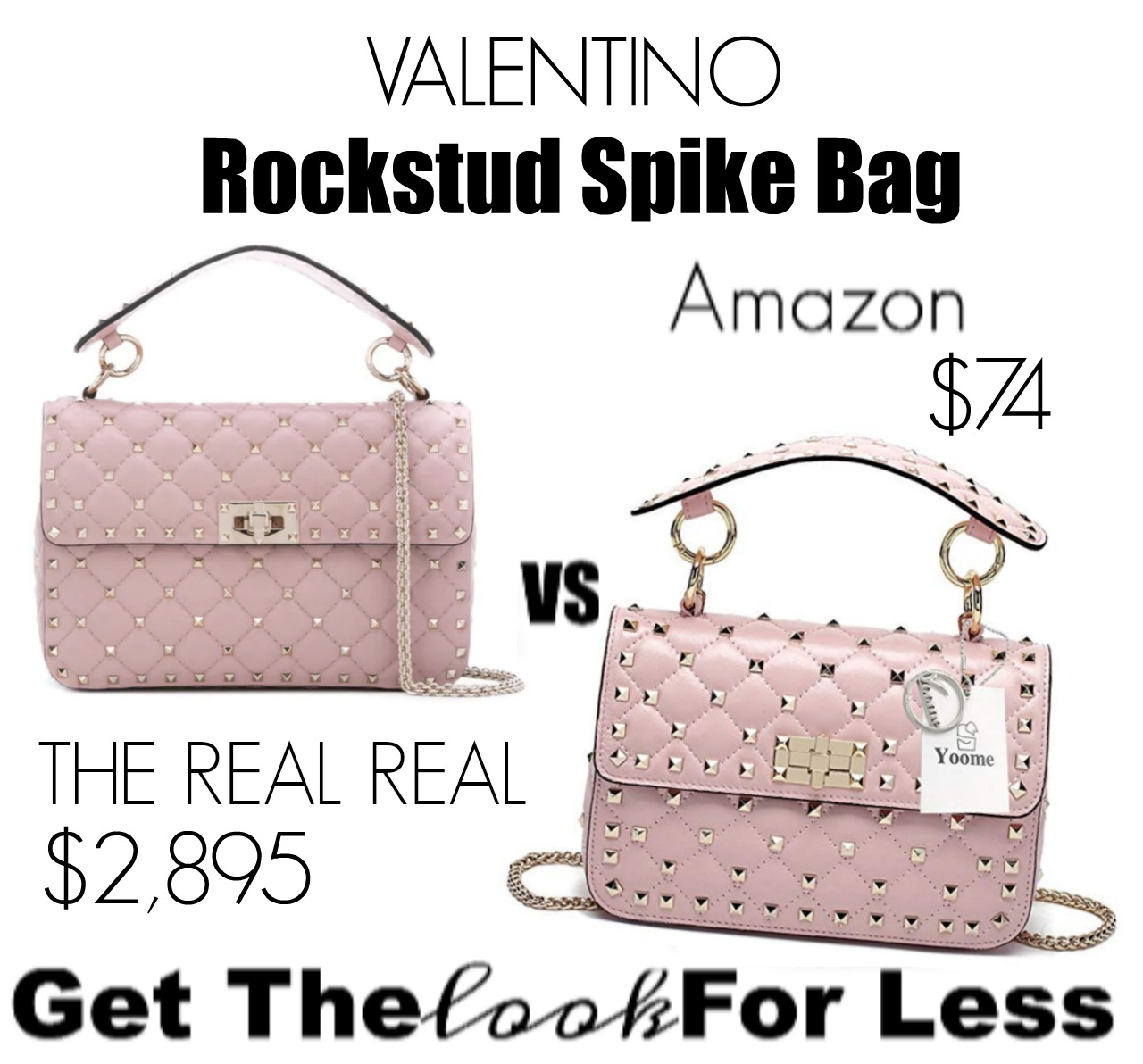 GET THE LOOK FOR LESS: Valentino Rockstud Spike Bag