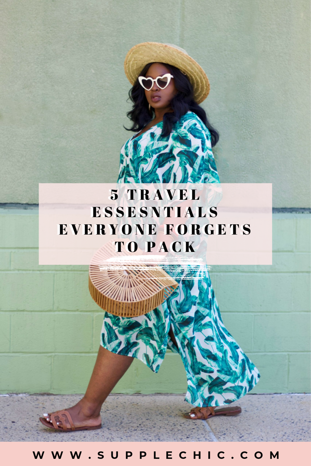 5 travel essentials everyone should pack from supplechic a fashion and lifestyle blog based out of Baltimore