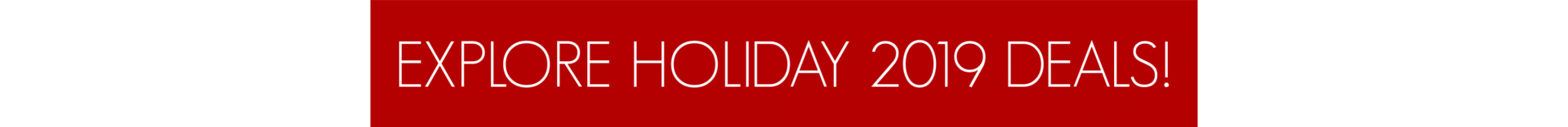 holiday 2019 DEALS