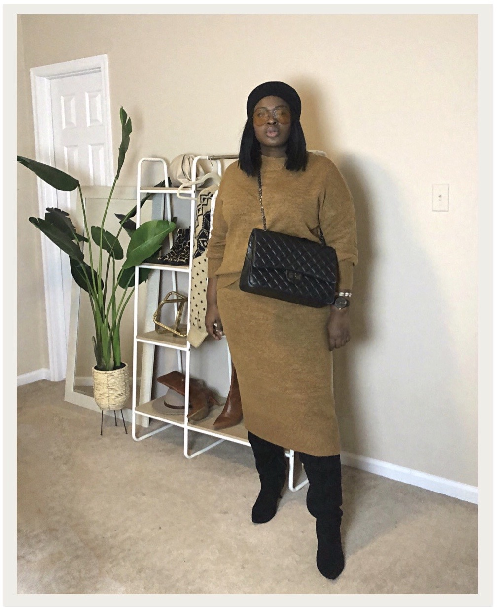walmart time and true sweater set from supplechic a fashion and lifestyle blog based in baltimore