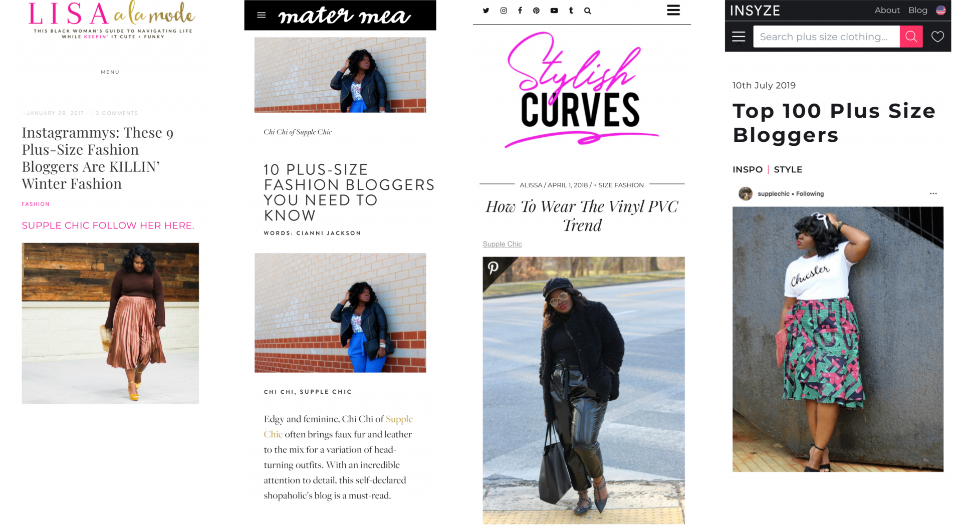 PRESS Chichi from supplechic a plus size fashion and lifestyle blog based in baltimore