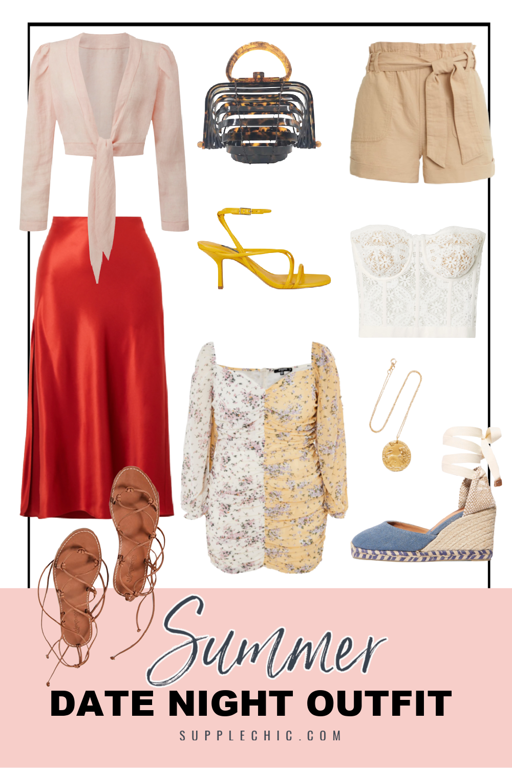 Summer date night outfit from supplechic a fashion and lifestyle blog based out of Baltimore