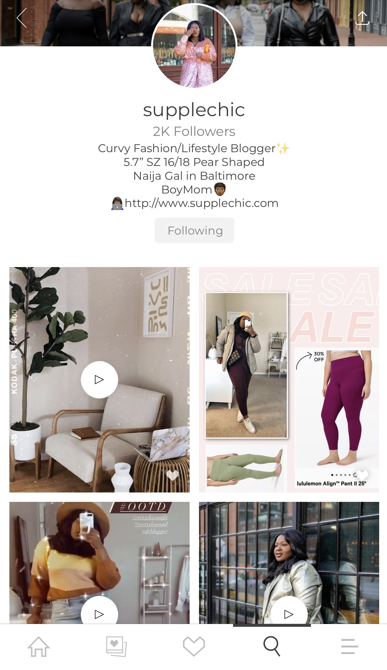 How to Monitize with LTK from Supplechic a Fashion and Liestyle Blog Based out of Baltimore